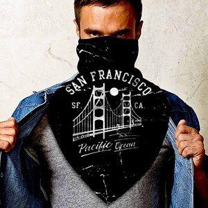 San Francisco face gaiter